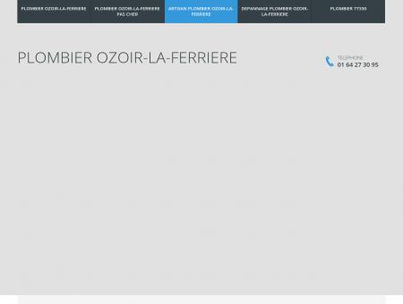 Plombier Ozoir-la-Ferriere