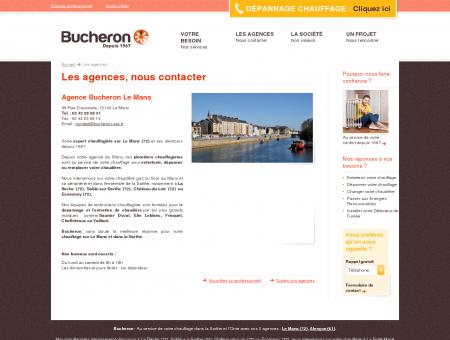 Agence Bucheron Le Mans, plombier...
