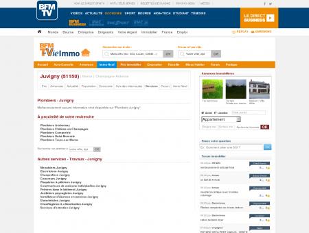 Annuaire des Plombiers - Juvigny 51150 |...