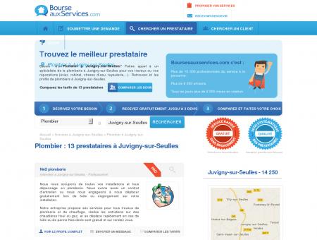 Plombier Juvigny-sur-Seulles (14 250)