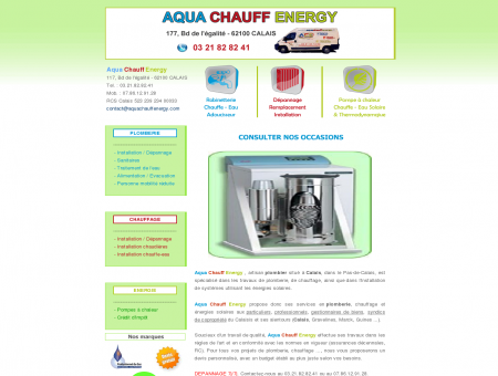 Aqua Chauff Energy ACE : plombier...