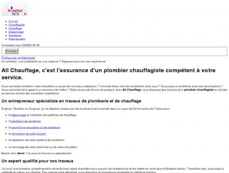 All Chauffage, Plombier Chauffagiste :...