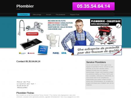 Plombier Floirac, 33 - Optez le entreprise...