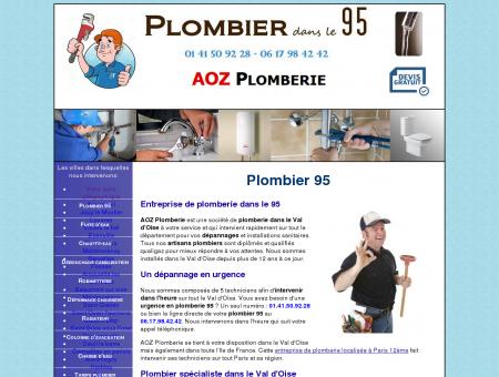 Plombier 95 au 01 41 50 92 28