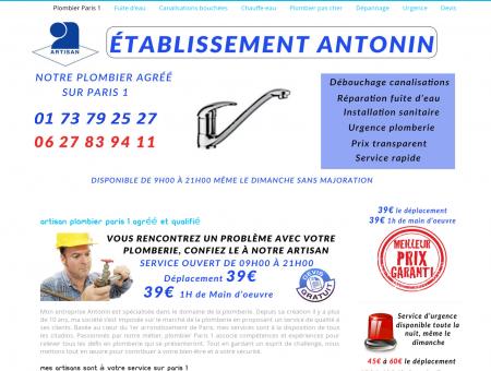 Plombier Paris 1  Dépannage 39 de l'heure