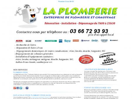Plombier Croix TEL:03 66 72 93 93
