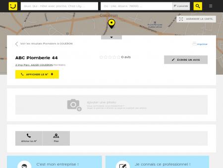 ABC Plomberie 44 Couëron (adresse) -...