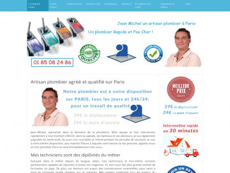 Plombier Paris 39 de l'heure - Dépannage...