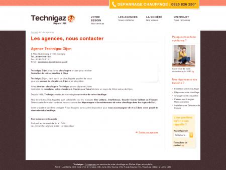 Agence Technigaz, votre plombier chauffagiste...