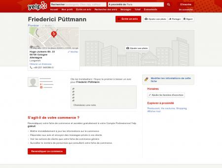 Friederici Püttmann - Plombier - Longerich -...