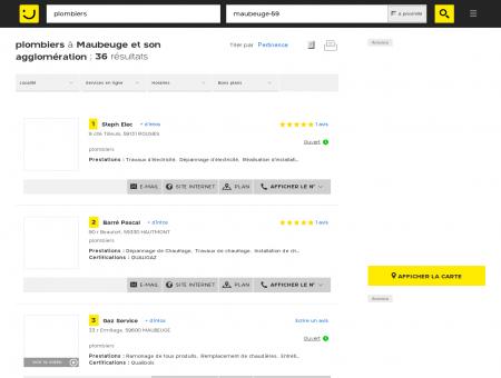 Plombier à Maubeuge - PagesJaunes : Trouvez...