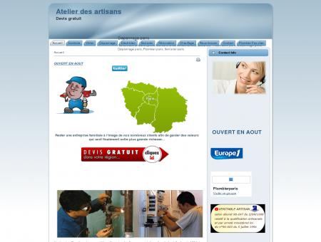 Plombier Paris ||  Reparation, Depannage,...