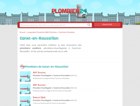 plombier canet