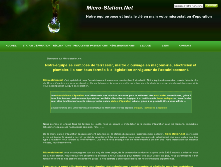 Micro-station.net | Accueil | Micro stations...