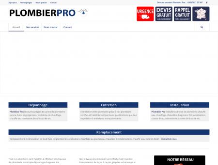 Plombier Pro: le réseau des meilleurs plombiers