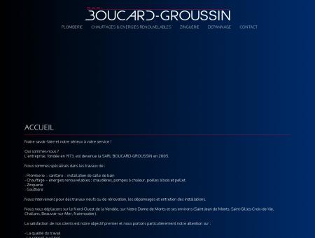 BOUCARD GROUSSIN : Plombier de Notre...