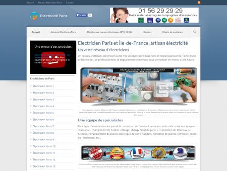 Electricien Paris et Île-de-France, artisan...