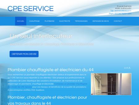 plombier chauffagiste 44 : électricien - CPE...