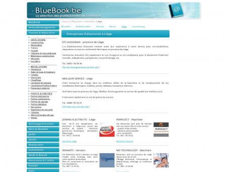 Electriciens à Liège, Verviers, Huy, Waremme,...