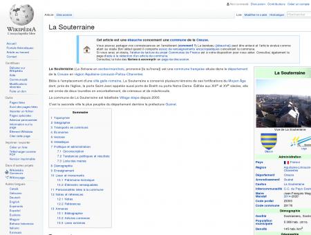 La Souterraine  Wikipédia