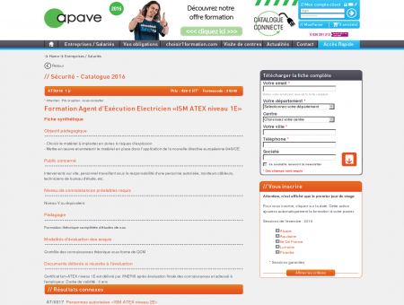 Formation : Agent d'Exécution Electricien «ISM...