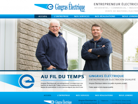 Entrepreneur Électricien en Beauce et au...