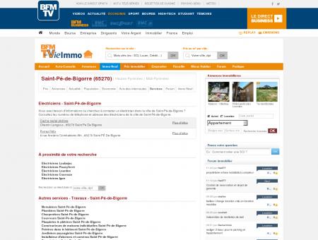Annuaire des Électriciens - Saint-Pé-de-Bigorre...