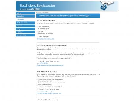 Electriciens à Bruxelles : installation, rénovation ...