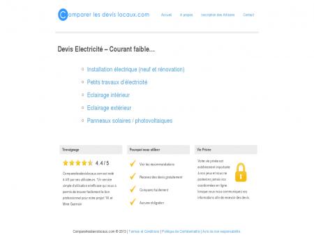 Devis Electricien Gratuit | Comparerlesdevislocaux.com