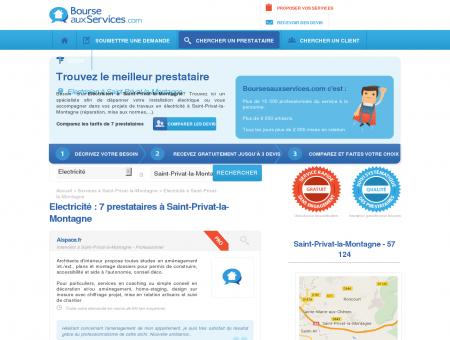 Electricien Saint-Privat-la-Montagne (57 124)