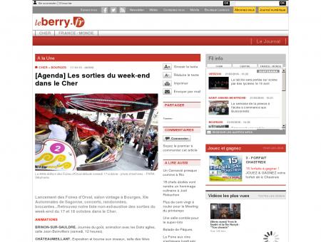 www.leberry.fr - A la Une - BOURGES (18000) -...