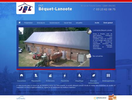 Béquet-Lanoote: couvreur saint Quentin,...