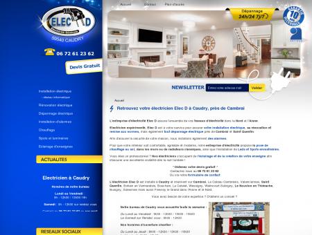 Electricien Caudry - Entreprise d'électricité...
