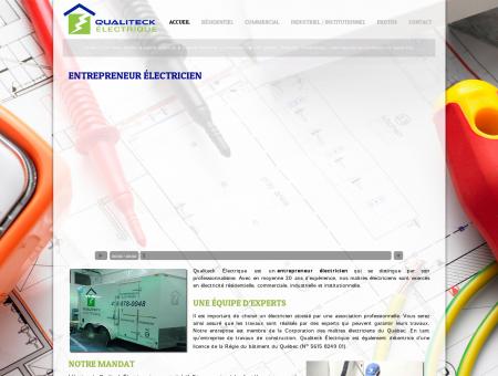 Qualiteck Électrique - Entrepreneur Électricien...
