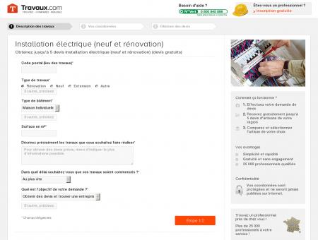 Devis Gratuit Electricien   Travaux.com