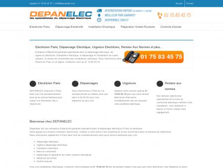 Electricien Paris, Depannage Electricite et...