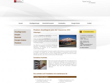 Plombier 84 - JL MARSEILLE ENERGIES :...