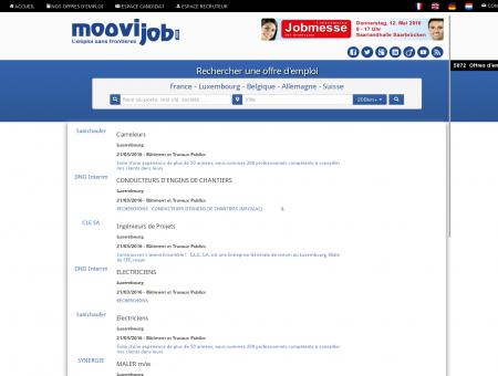 Toutes les offres d'emploi - Bâtiment et...