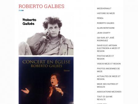 ROBERTO GALBES - mezeherault - mezeherault...