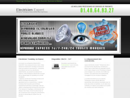 Electricien Tremblay-en-france - Electricite...