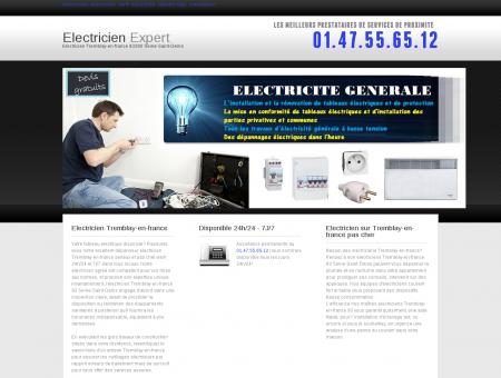 Electricien Tremblay-en-france - Expert...