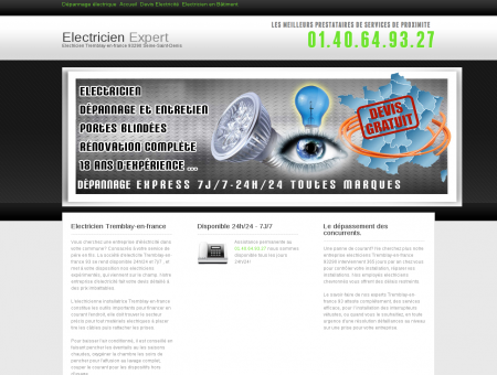 Electricien Tremblay-en-france - Urgence...