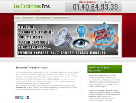 Electricien Tremblay-en-france, 93 | Entreprise...