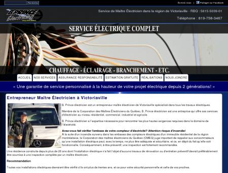 B. Prince Électricien - Entrepreneur Maître...