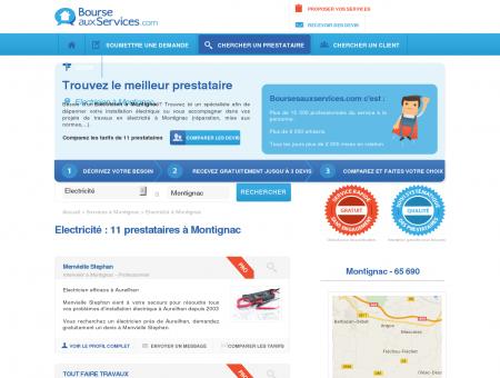 Electricien Montignac (65 690)