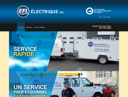 EFL Électrique inc. - Entrepreneur électricien à...