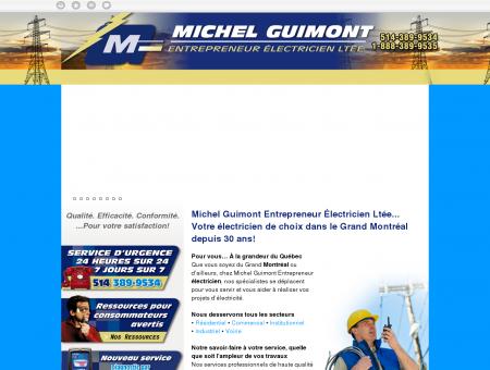Michel Guimont   Entrepreneur électricien...