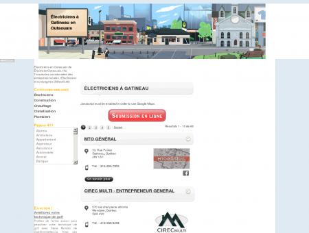 Électriciens à Gatineau - ElectricienOutaouais.info