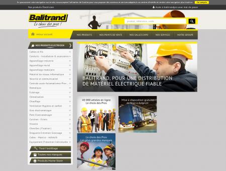 Nos produits Électricien - Câbles, Appareillage ...