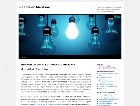 Electricien Montreal, Entrepreneur Electricien ...